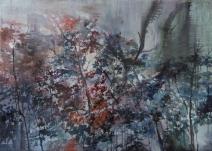 Wandering at Night| 夜徊 |Oil on Canvas | 50*70CM